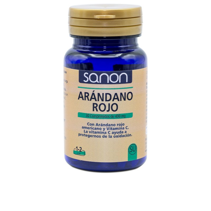 Sanon Arándano Rojo Americano Y Vitamina C 30 Comprimidos De 400mg