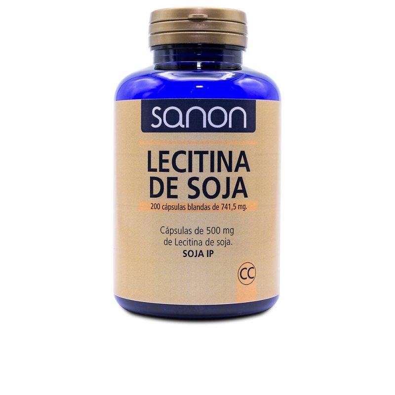 Sanon Lecitina De Soja 200 Cápsulas Blandas De 500mg