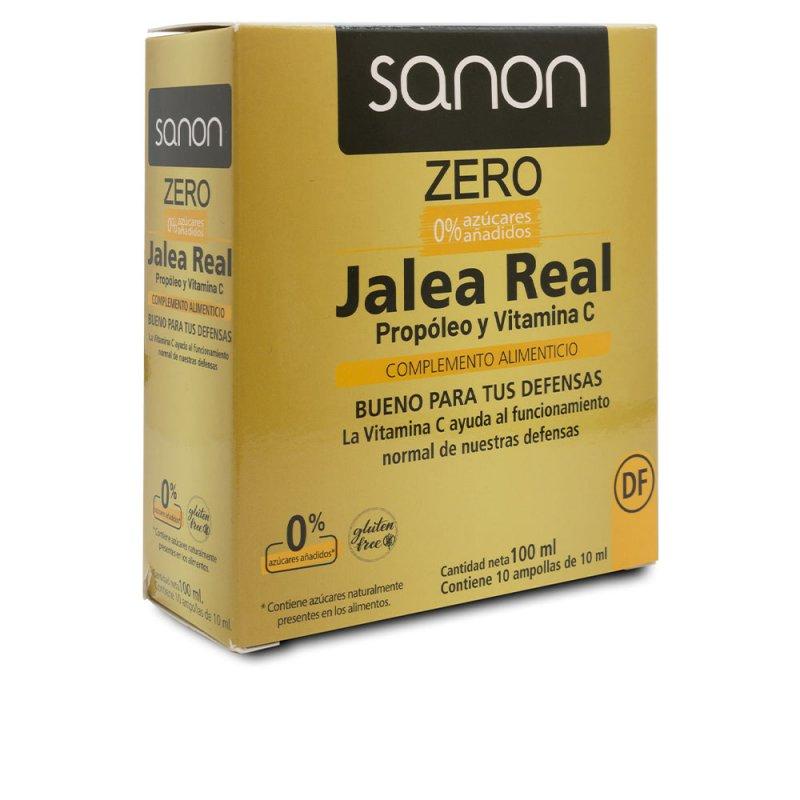Sanon Jalea Real Propóleo Y Vitamina C Zero 10 Ampollas