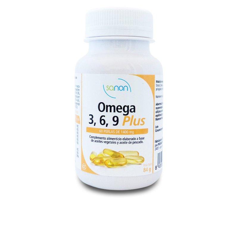 Sanon Omega 3/6/9 Plus 60 Perlas De 1400mg