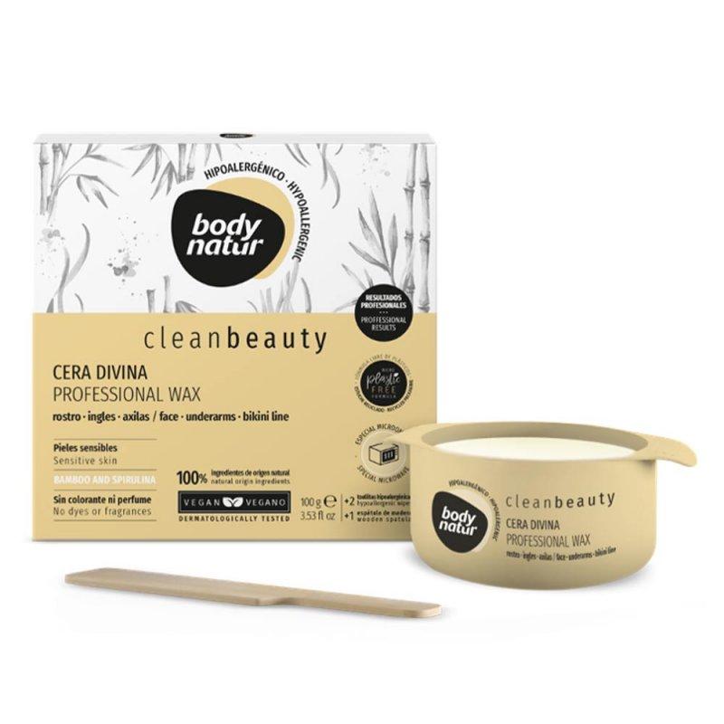 Body Natur Clean Beauty Cera Divina Profesional Wax 100ml