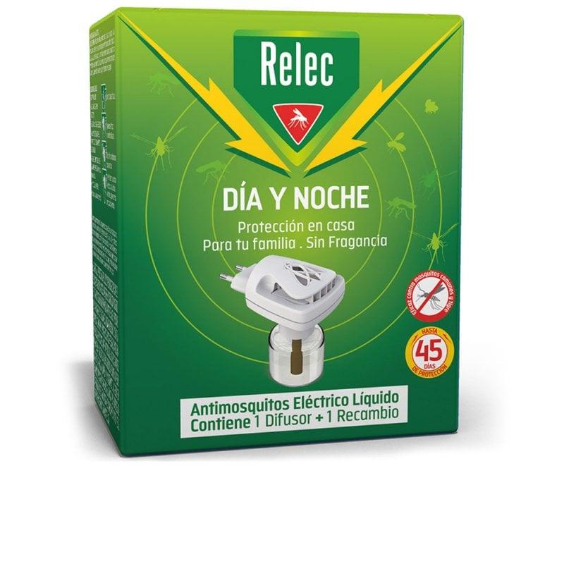 Relec Dispositivo Día Y Noche Difusor + Recambio Insecticida