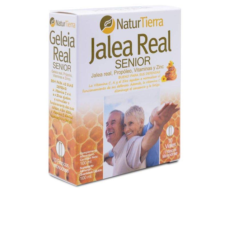 Naturtierra Jalea Real Senior Suplemento 10 Viales