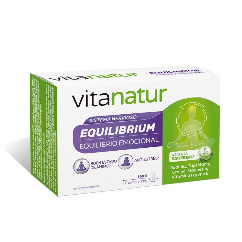 Vitanatur Equilibrio Complemento Vitamínico + Minerales Y Oligoelementos 60 Comprimidos