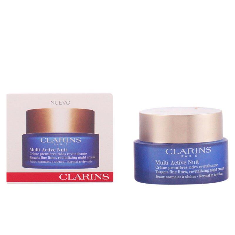 Clarins Multi-active Nuit Crème Confort Tratamiento Facial Hidratante 50ml