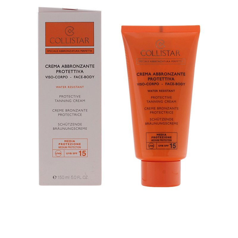 Collistar Perfect Tanning Protective Cream Face-Body SPF15 Corporales 150ml