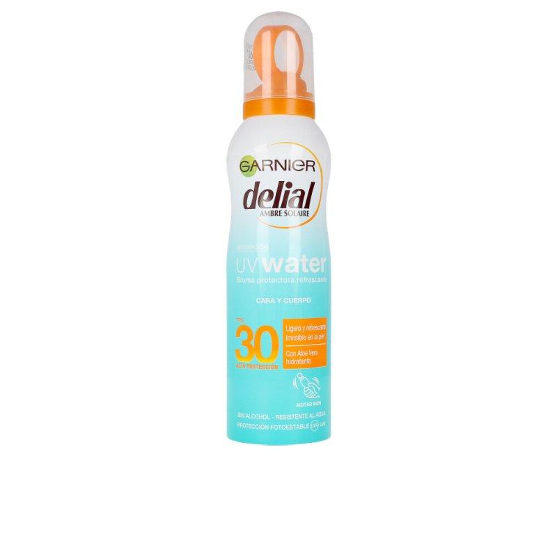 Garnier Delial UV Water Bruma Protectora SPF30 Corporales 200ml