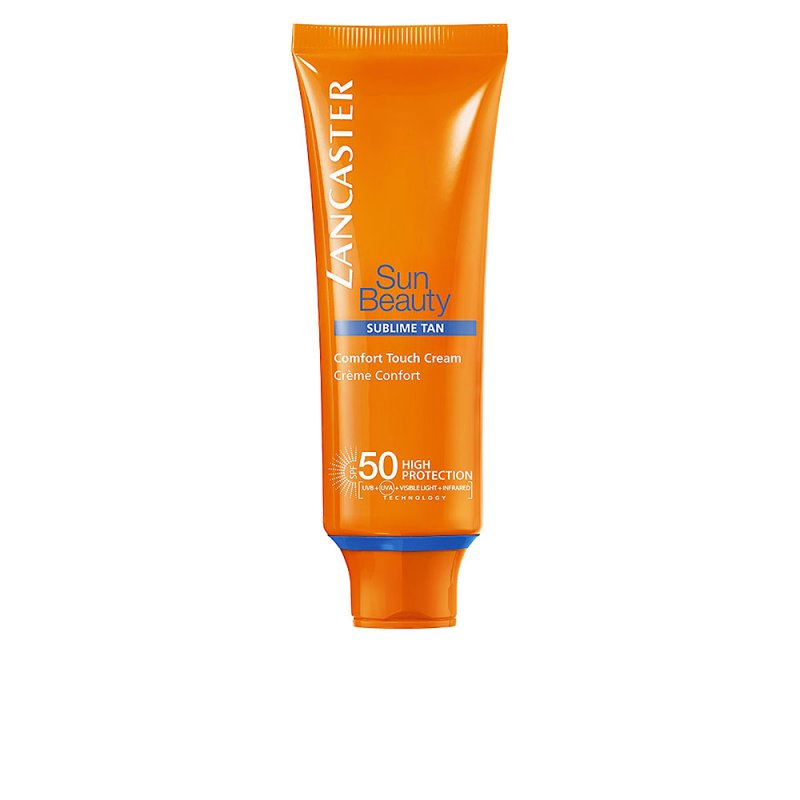 Lancaster Sun Beauty Comfort Touch Cream Gentle Tan SPF50 Faciales 50ml