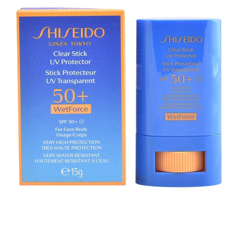 Shiseido Sun Clear Stick UV Protector Face/Body SPF50+ Labiales 15gr