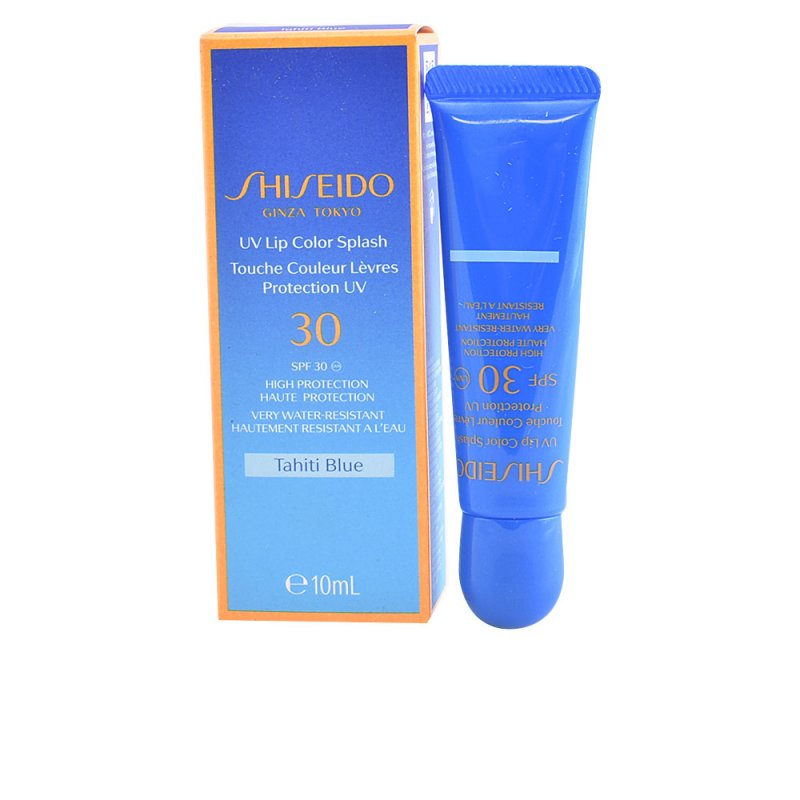 Shiseido Sun UV Lipcolor Splash SPF30 Tahiti Blue Labiales 10ml
