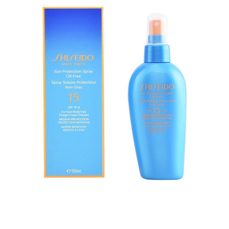 Shiseido Sun Protection Oil-Free SPF15 Spray Capilares 150ml