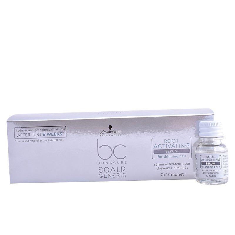 Schwarzkopf BC Scalp Genesis Root Activating Sérum Thinning Hair Tratamiento Anticaída 7 Unidades