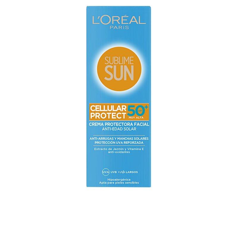 L'Oréal París Sublime Sun Cellular Protect Facial SPF50 75ml