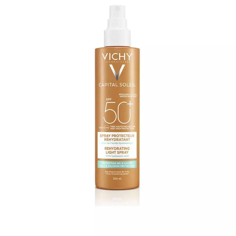 Vichy Laboratoires Capital Soleil SPF50 Spray Corporales 200ml