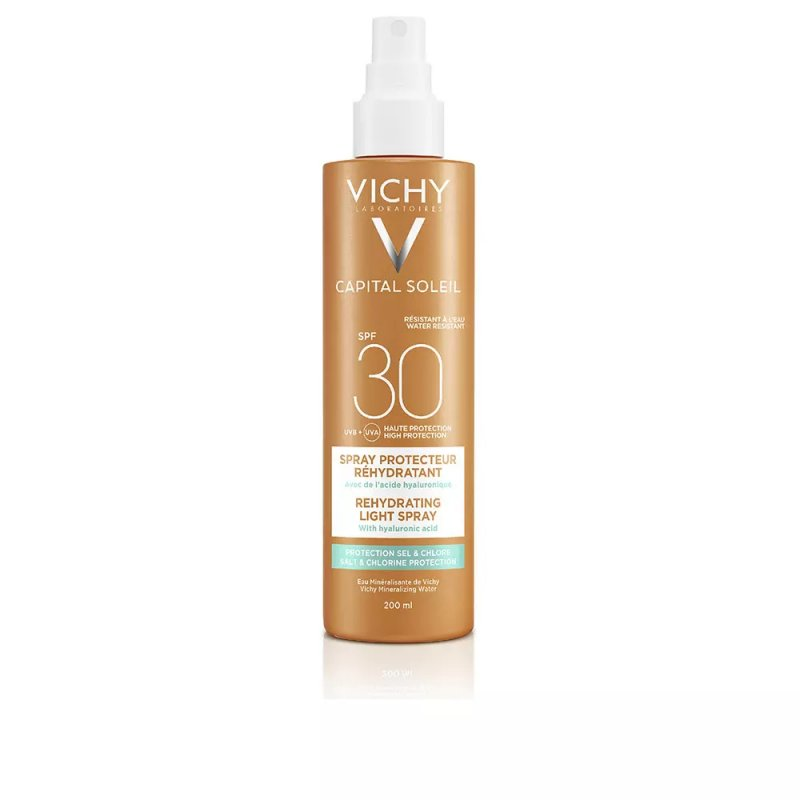 Vichy Laboratoires Capital Soleil Lait SPF30 Spray Corporales 200ml