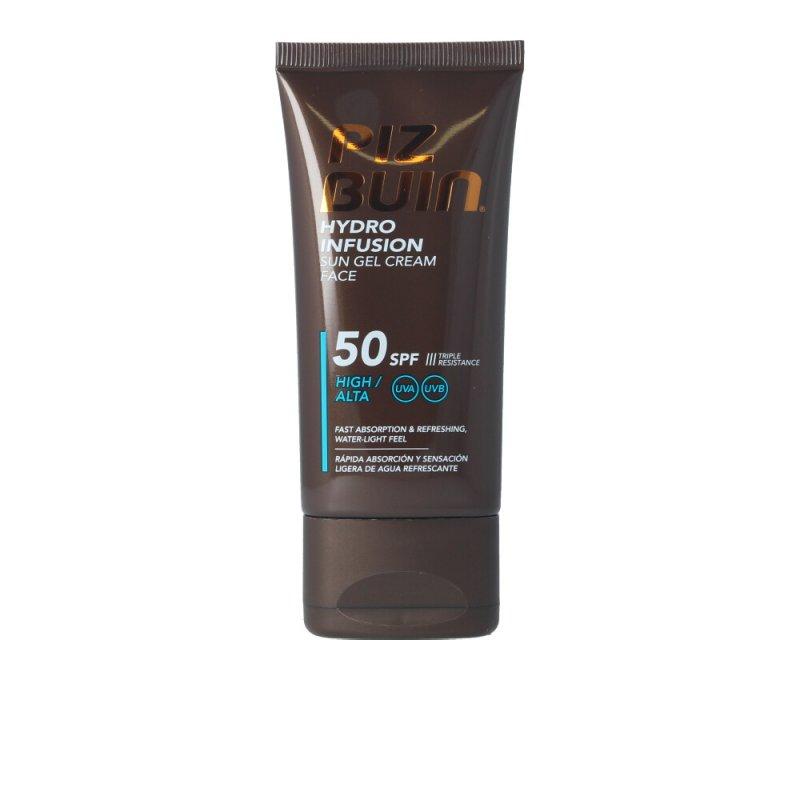 Piz Buin Hydro Infusion Sun Gel Cream Face SPF50 Faciales 50ml