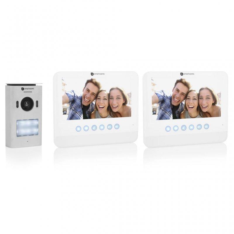 Smartwares DIC-22222 Intercomunicador 2 Apartamentos