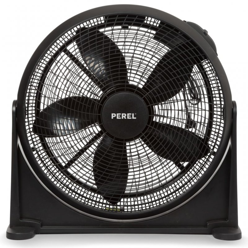 Perel CFANAM6 Ventilador De Suelo 70W Negro