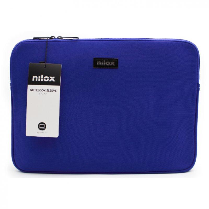 "Nilox Funda De Neopreno Para Portátil 15.6"" Azul"