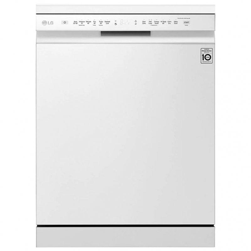 LG DF222FWS Lavavajillas Capacidad 14 Cubiertos E Blanco