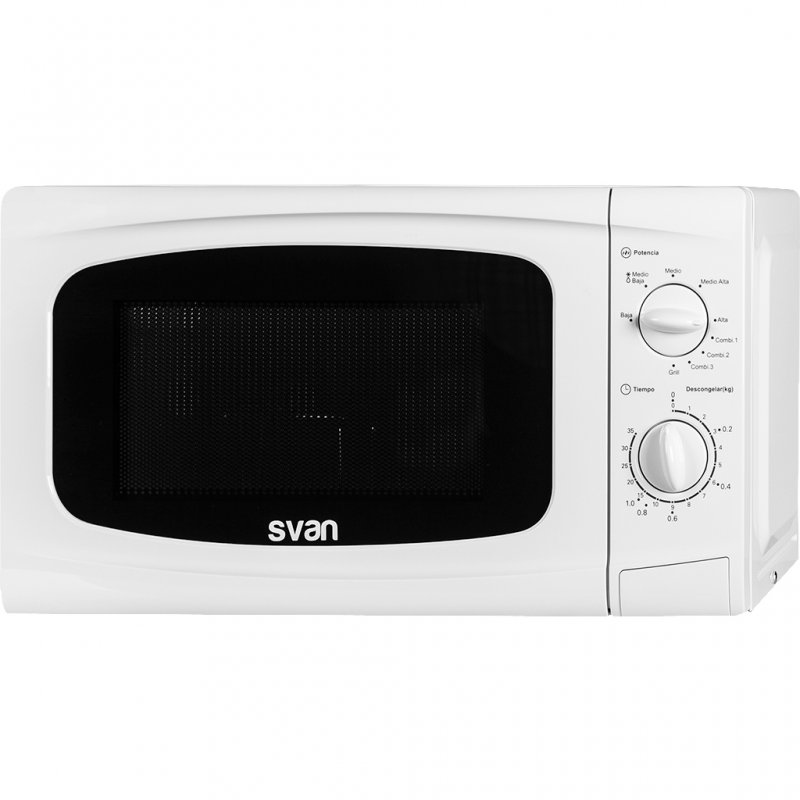Svan SVMW720G Microondas Con Grill 20L 700W Blanco