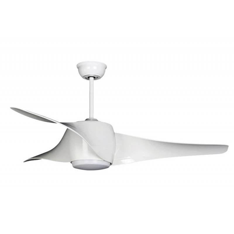 Ledme Fanton Ventilador De Techo Con Luz LED Y Mando 18W Blanco