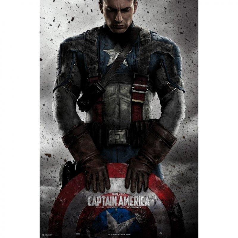 Erik Maxi Póster Marvel Capitan América 91.5x61cm