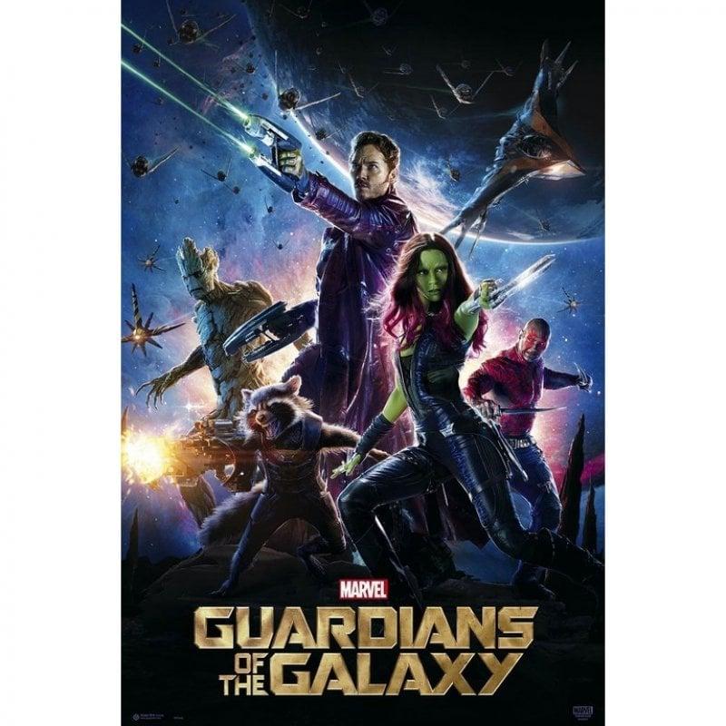 Erik Maxi Póster Marvel Guardianes De La Galaxia One Sheet 91.5x61cm
