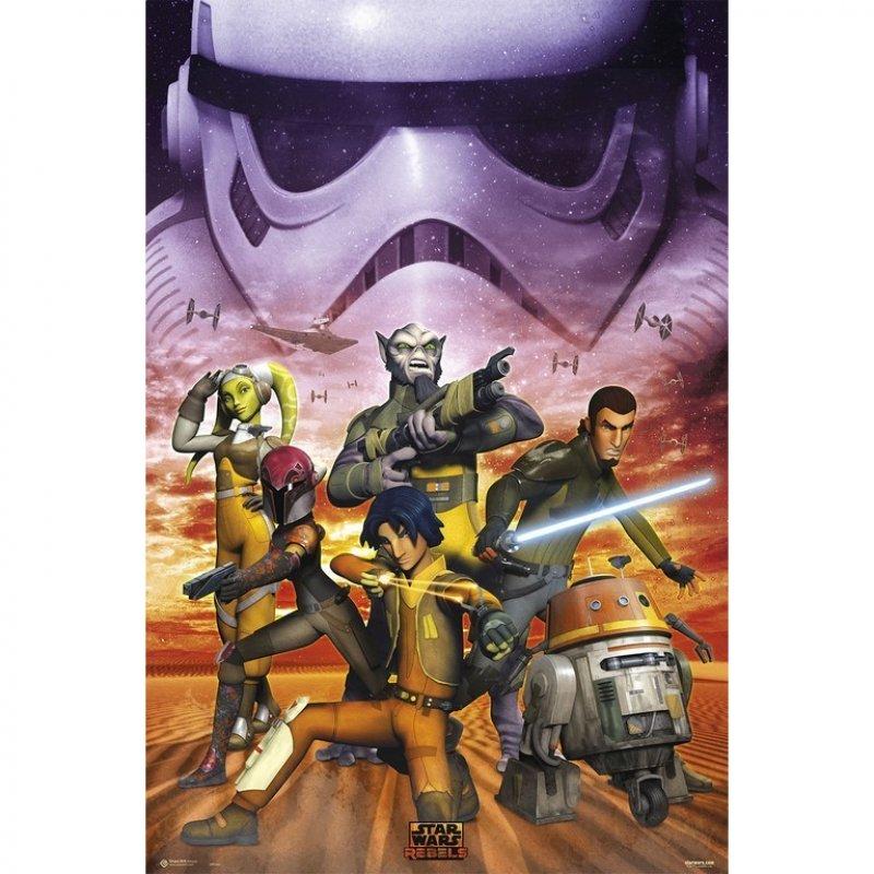 Erik Maxi Póster Star Wars Rebels Empire 91.5x61cm