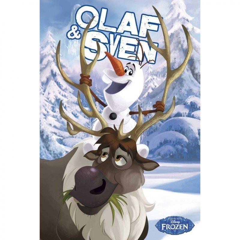 Erik Maxi Póster Frozen Olaf Y Sven 91.5x61cm