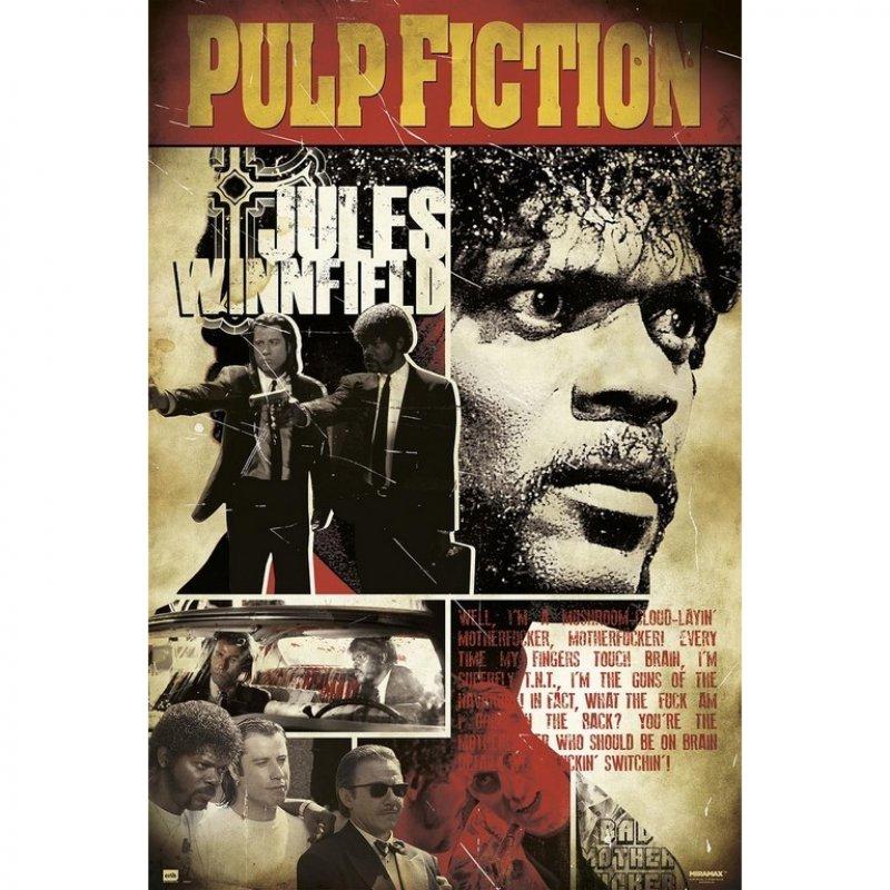 Erik Maxi Póster Pulp Fiction Jules 91.5x61cm