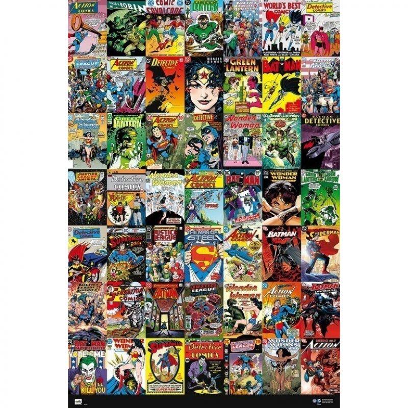 Erik Maxi Póster DC Comic Portadas 91.5x61cm