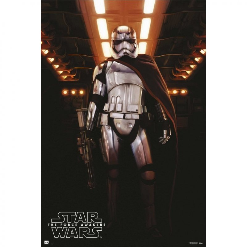 Erik Maxi Póster Star Wars Capitana Phasma 91.5x61cm