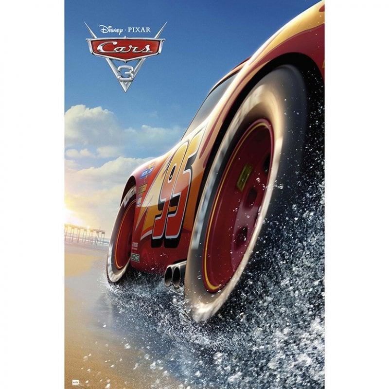 Erik Maxi Póster Cars 3 Playa 91.5x61cm