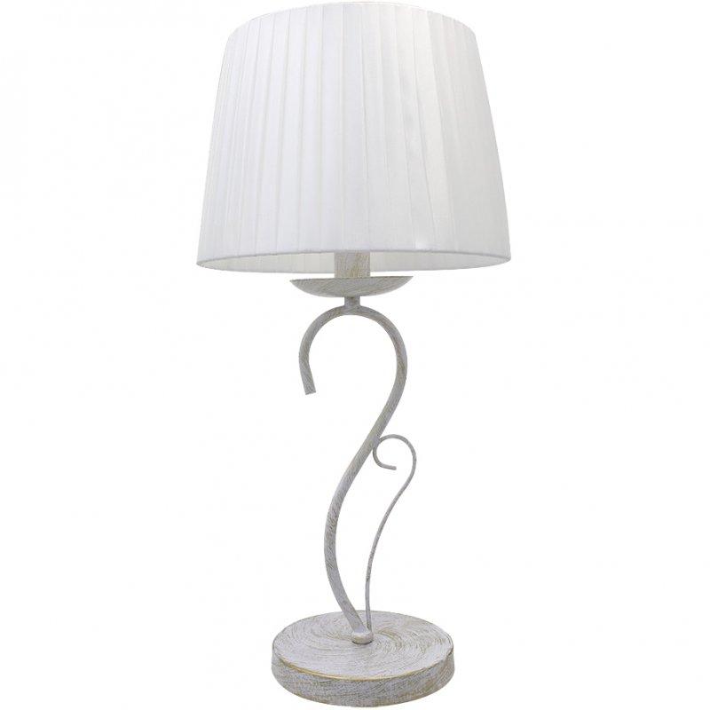 Fabrilamp Amsterdam Lámpara De Sobremesa E14 Blanco/Oro