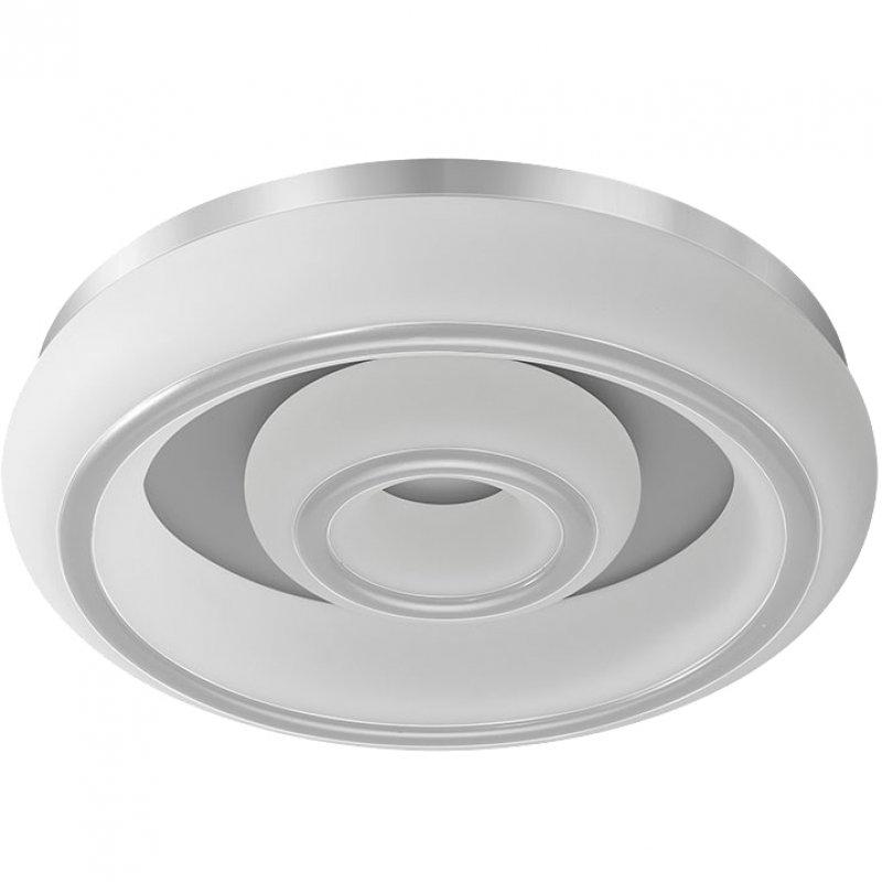Fabrilamp París Plafón LED Regulable 66W Blanco/Plata