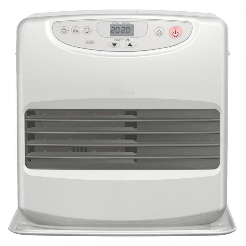 Qlima SRE 8040C Calefactor De Parafina 428W Plateado