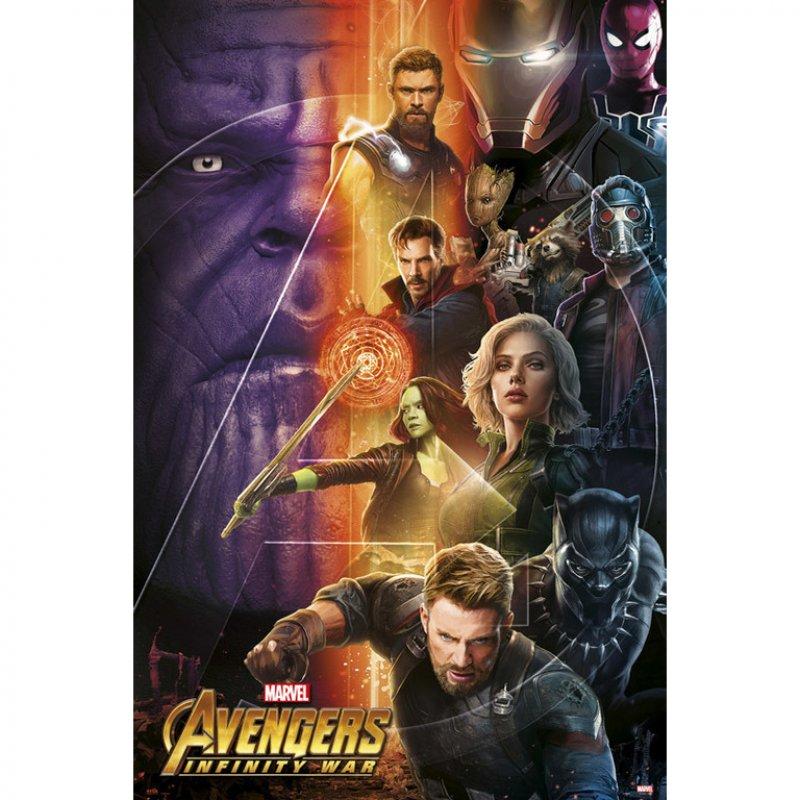 Erik Maxi Póster Vengadores Infinity War 191.5x61cm