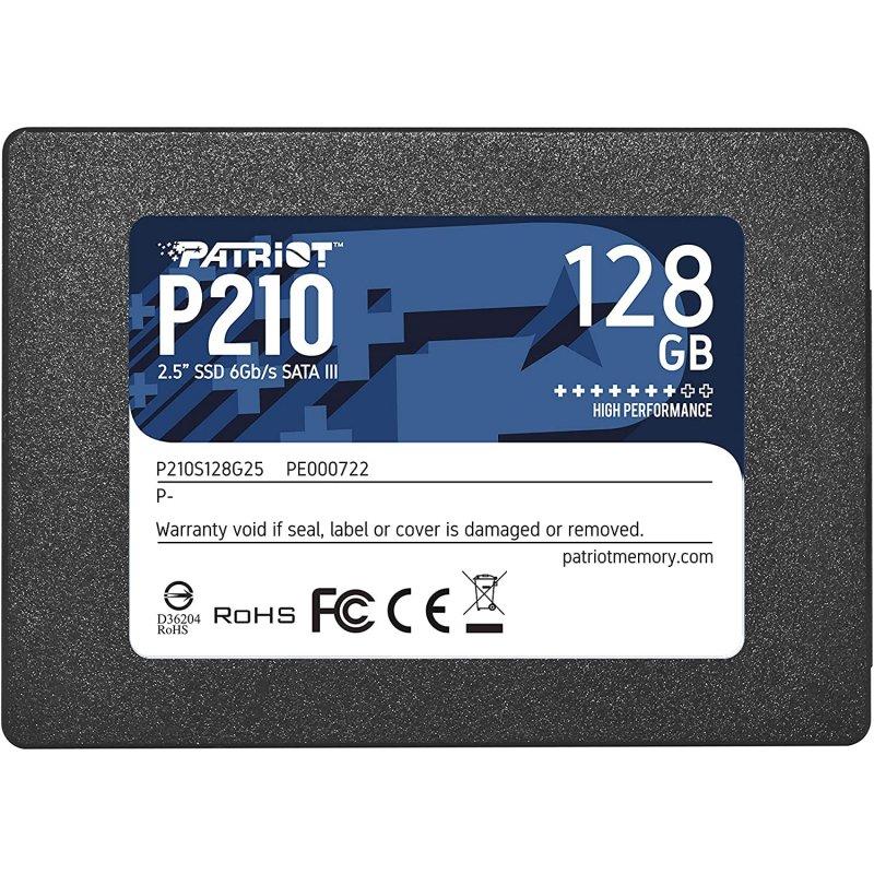 "Patriot P210 2.5"" SSD 128GB SATA 3"