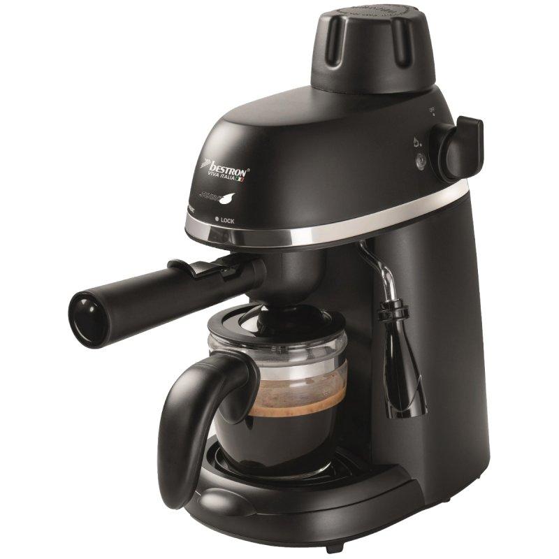 Bestron AES800 Cafetera Espresso 3.5 Bares 800W Negro