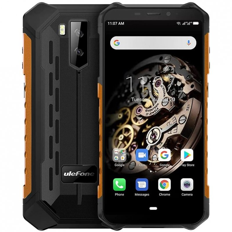 Ulefone Armor X5 3/32GB Naranja Libre