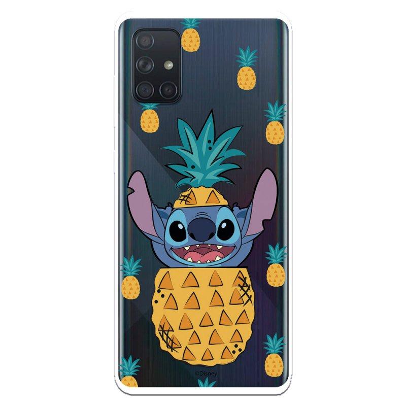 Funda Oficial de Disney Stitch Piñas Lilo & Stitch para Samsung Galaxy A71