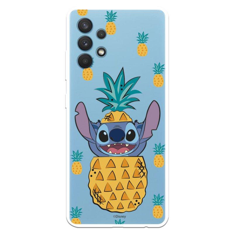 Funda Oficial de Disney Piñas Lilo & Stitch para Samsung Galaxy A32 4G