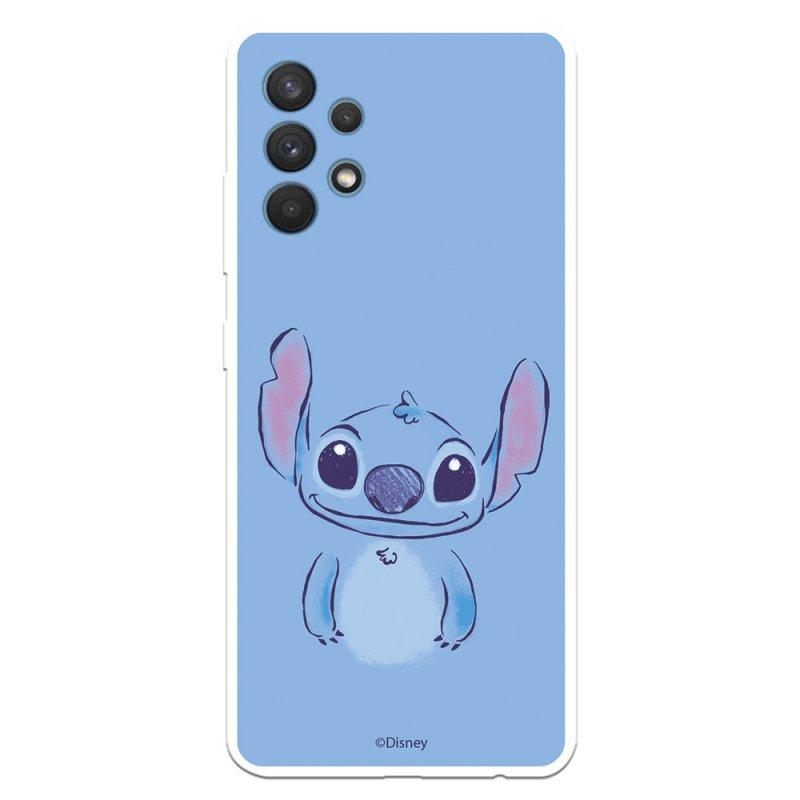 Funda Oficial de Disney Stitch Azúl Lilo & Stitch para Samsung Galaxy A32 4G