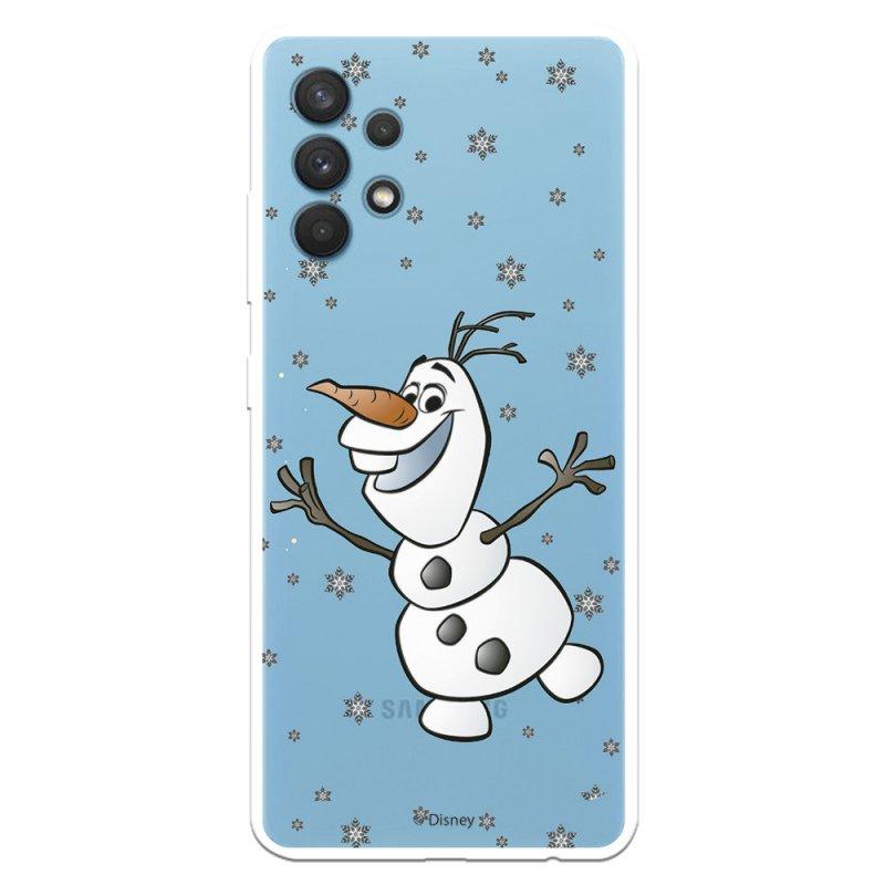 Funda Oficial de Disney Olaf Transparente Frozen para Samsung Galaxy A32 4G