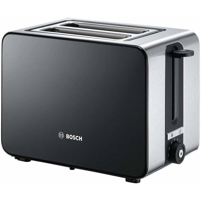 Bosch TAT7203 Tostadora 2 Rebanadas 1050W Negro Grafito