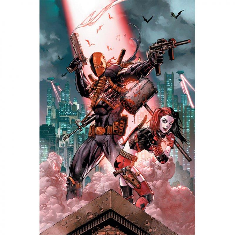Pyramid Maxi Póster DC Comics Deathstroke & Harley Quinn 91.5x61cm