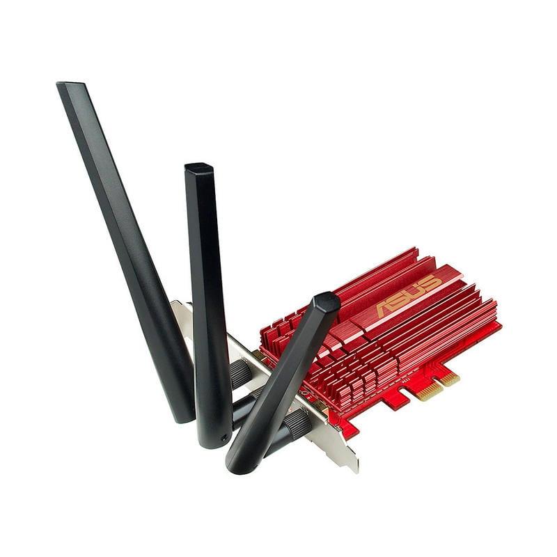Asus PCE-AC68 PCI-E WiFi Dual-Band AC1900
