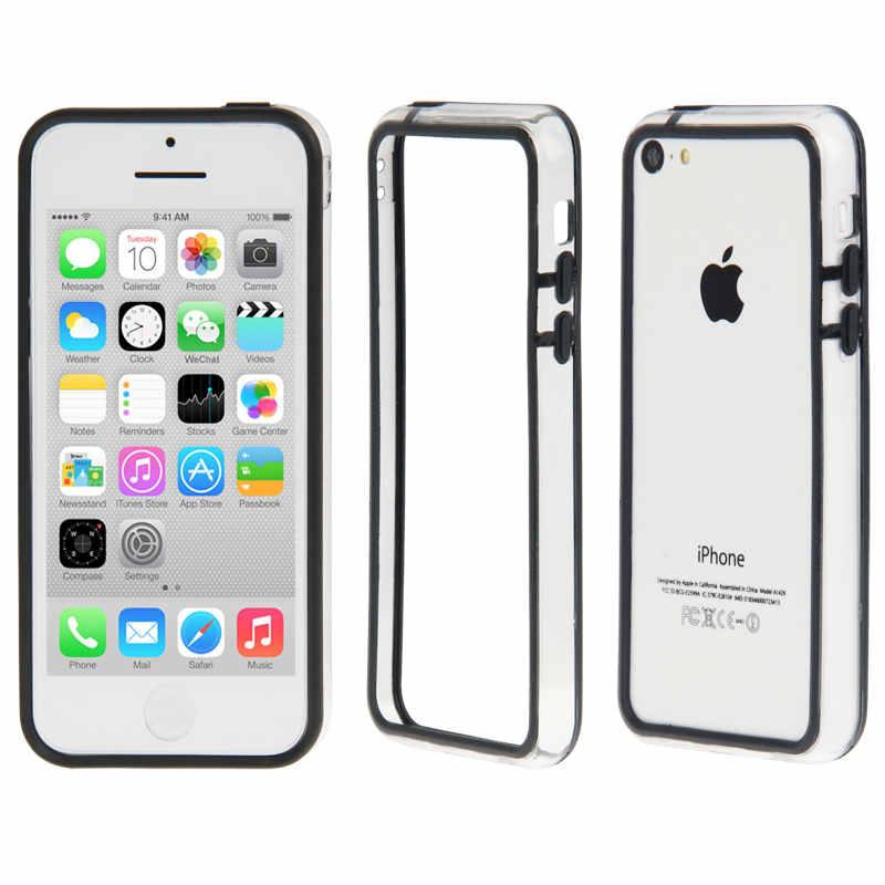 Funda bumper negro iphone 5c pccomponentes - Funda bateria iphone 5c ...