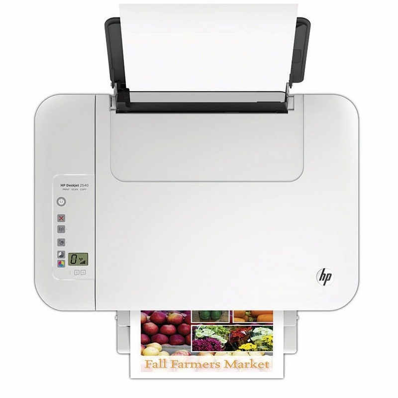 how to connect hp deskjet 2542 to wifi